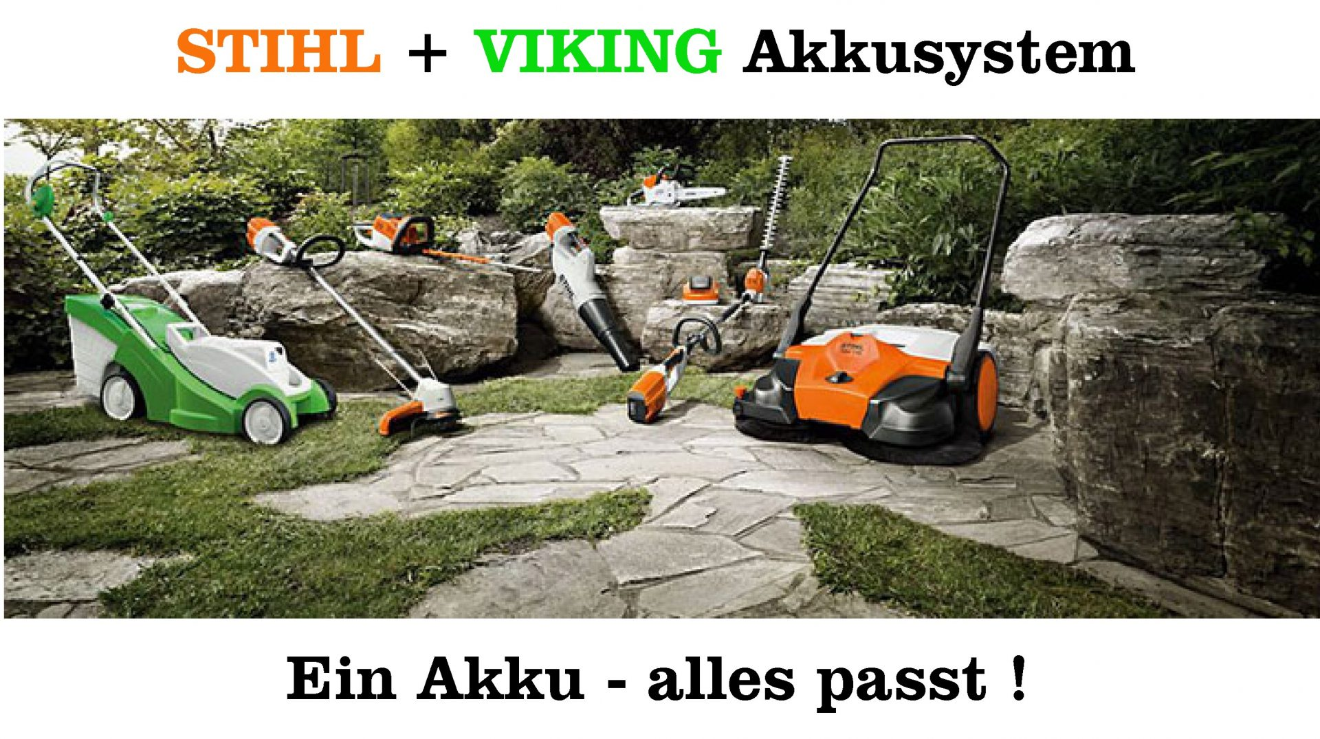 stihl und viking akkusystem s llner motorger te gmbh. Black Bedroom Furniture Sets. Home Design Ideas