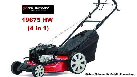 Murray red line ultra 19675 hw 4 in 1 aktionspreis - Bauhaus regensburg angebote ...