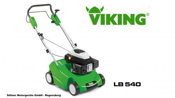 viking lb 540 benzin vertikutierer schlu mit moos abgestorbenem gras und rasenfilz. Black Bedroom Furniture Sets. Home Design Ideas