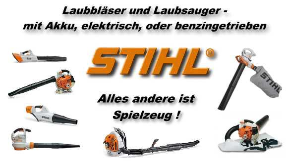 stihl archive s llner motorger te gmbh. Black Bedroom Furniture Sets. Home Design Ideas