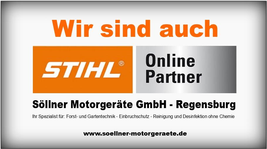 Wir sind Stihl Online Partner - Söllner Motorgeräte GmbH